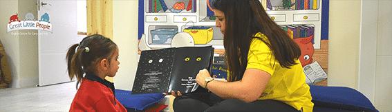 Lectura en ingles para niños