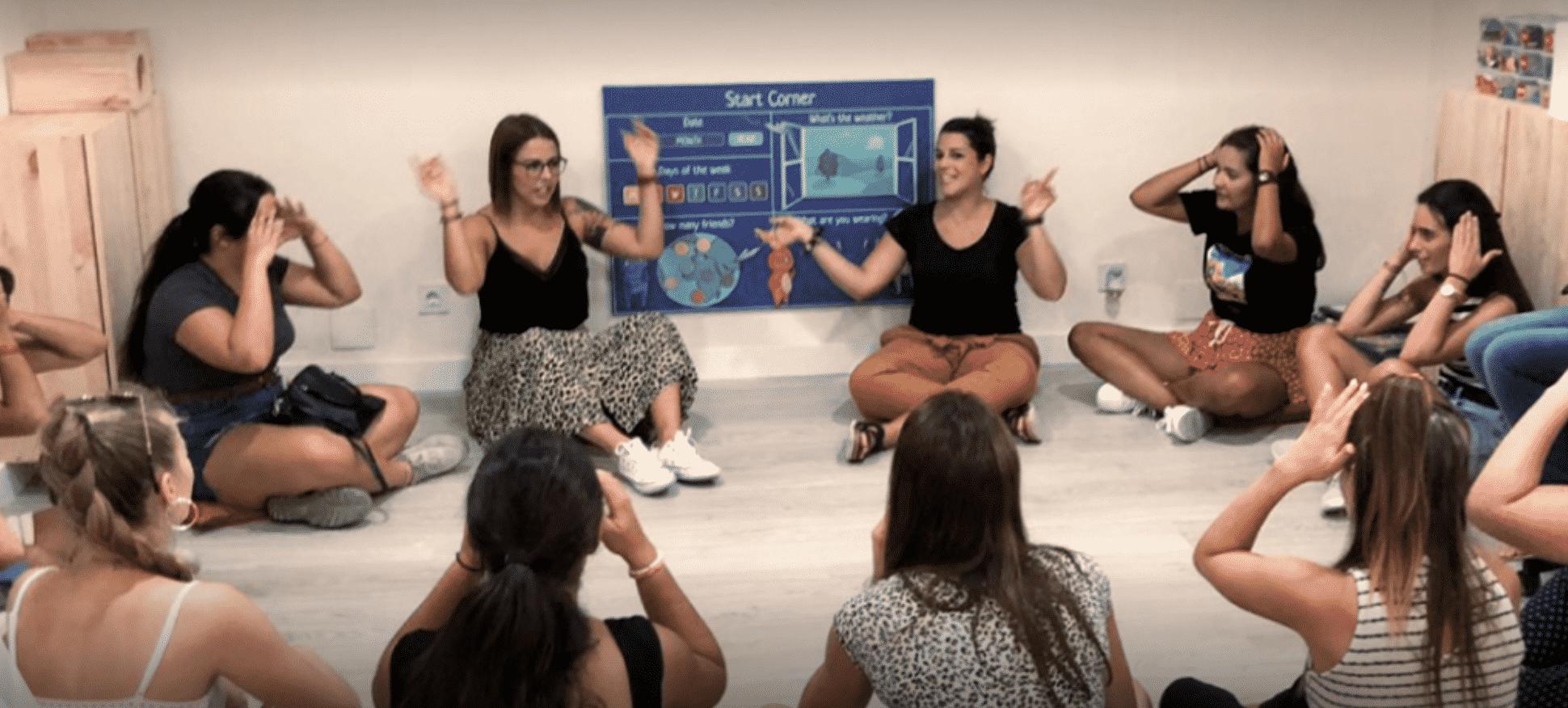 Profesores bilingües para niños
