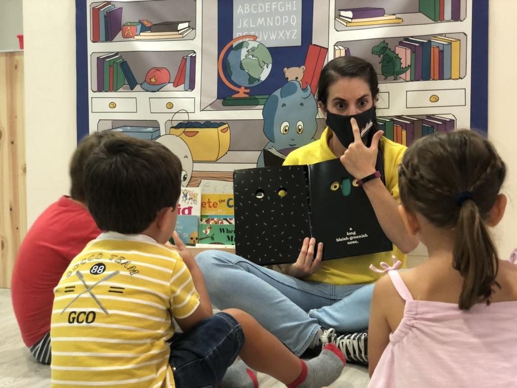 Con nuestros cuentos en inglés los niños adquieren el idioma de una forma más relajada